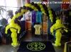 Gold's Gym Balloon Arch