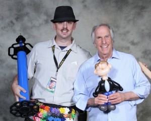 Cody and Henry Winkler 2015 Comicpalooza